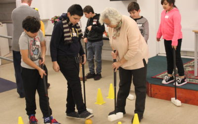 Croquet at the Youth Club