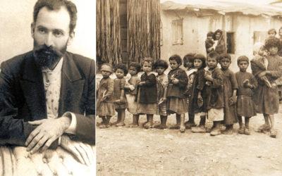Ամենայն հայոց որբերի հայրիկ Թումանյանը