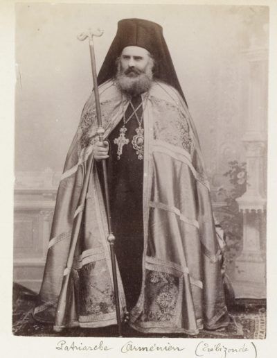 Armenian priest in Trabzon, undated