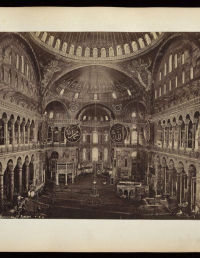 Aya Sophia interior 1868